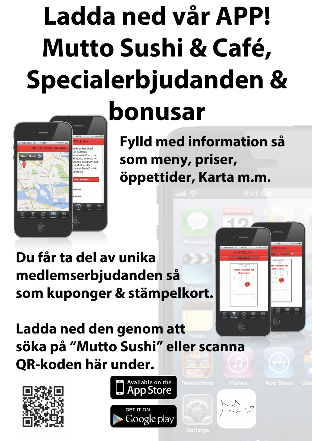 App plakat mutto