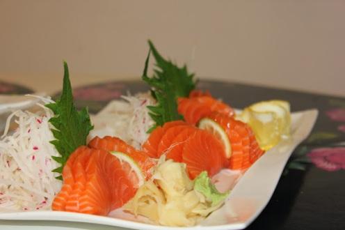 Lax sashimi