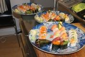25 bitar sushi