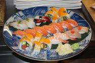 Sushi för två